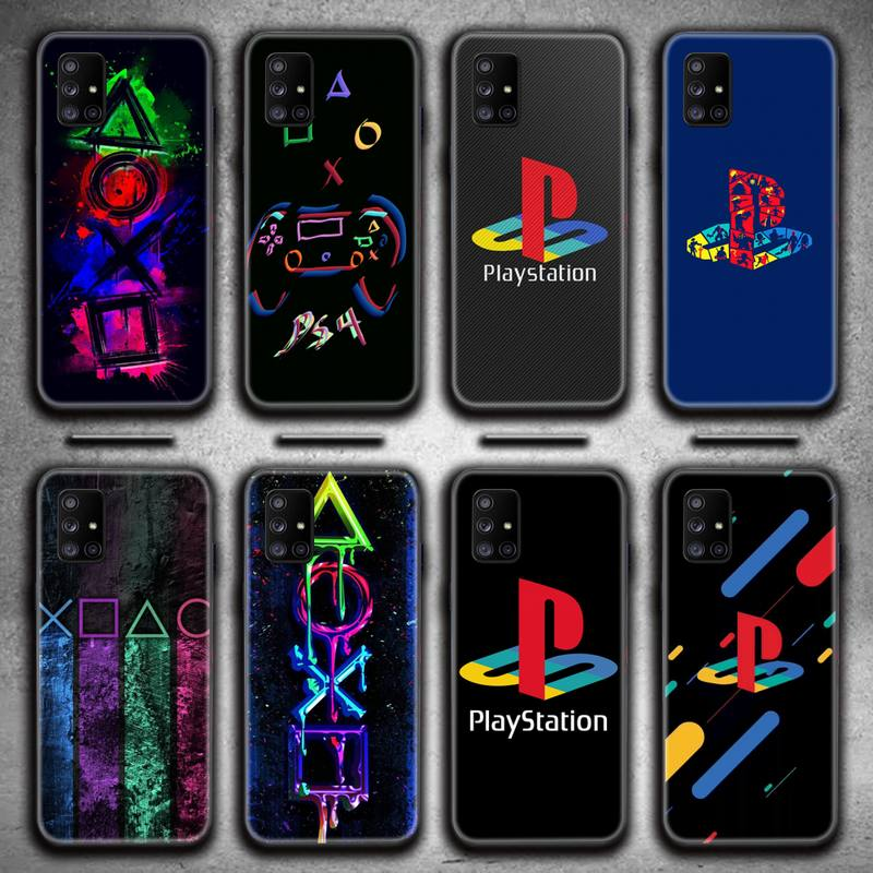 PlayStation buttons PS Phone Case For Samsung Galaxy A21S A01 A11 A31 A81 A10 A20E A30 A40 A50 A70 A80 A71 A51