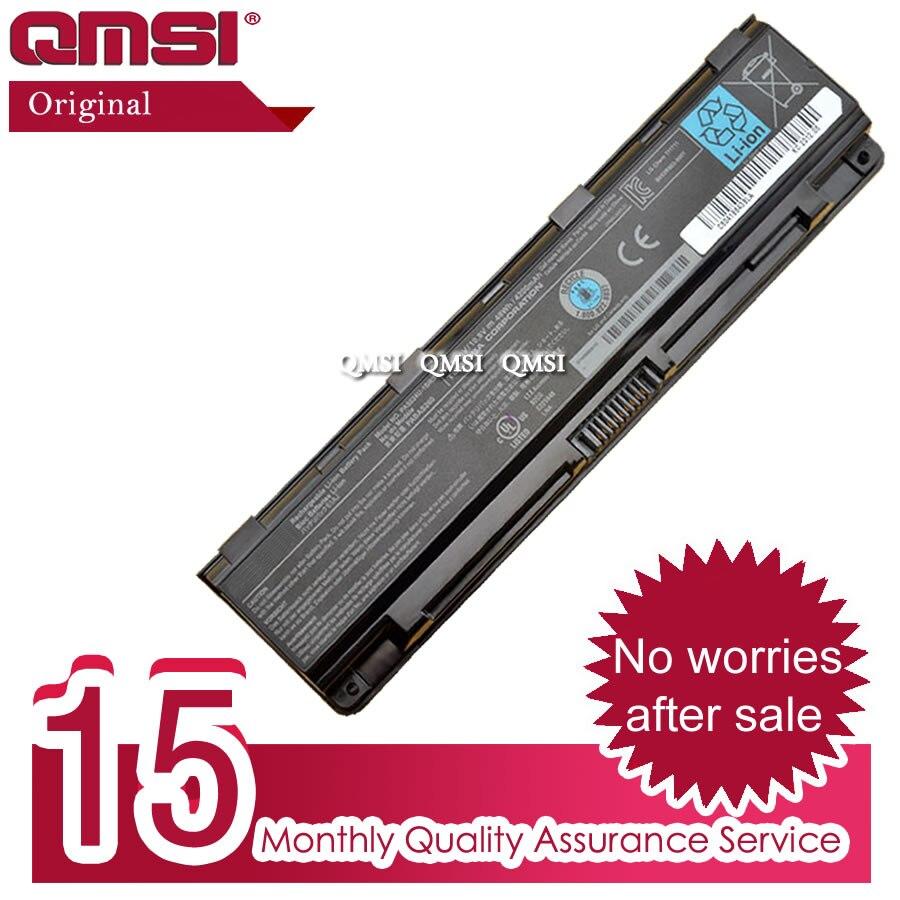 QMSI 10,8 V 48Wh batería Original PA5024U PA5023U para C800 C805 C845 C850 C855 C870 C875 L800 L805 L830