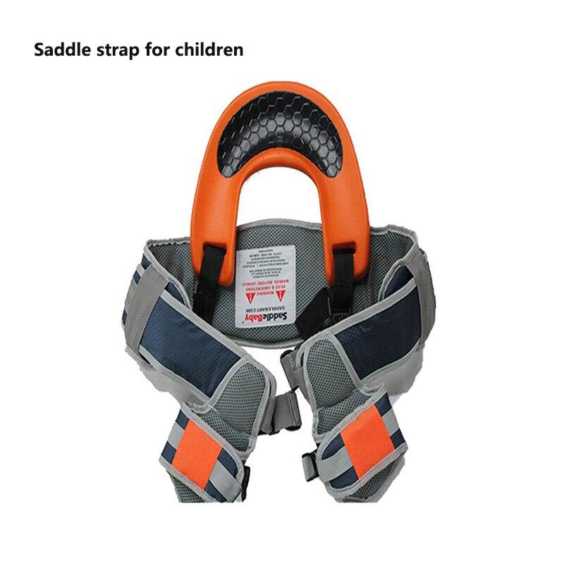 Confortável viagem ao ar livre crianças ferramenta de ombro transportadora assento quadril alça de viagem criança rider viagem volta quadro infantil sela