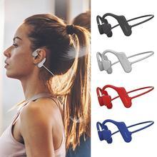 Беспроводные спортивные наушники с открытым ухом, Bluetooth 5,0, объемные наушники для бега, стереонаушники с костным звуком HD, проводящие PK, Hands fr Z8X7