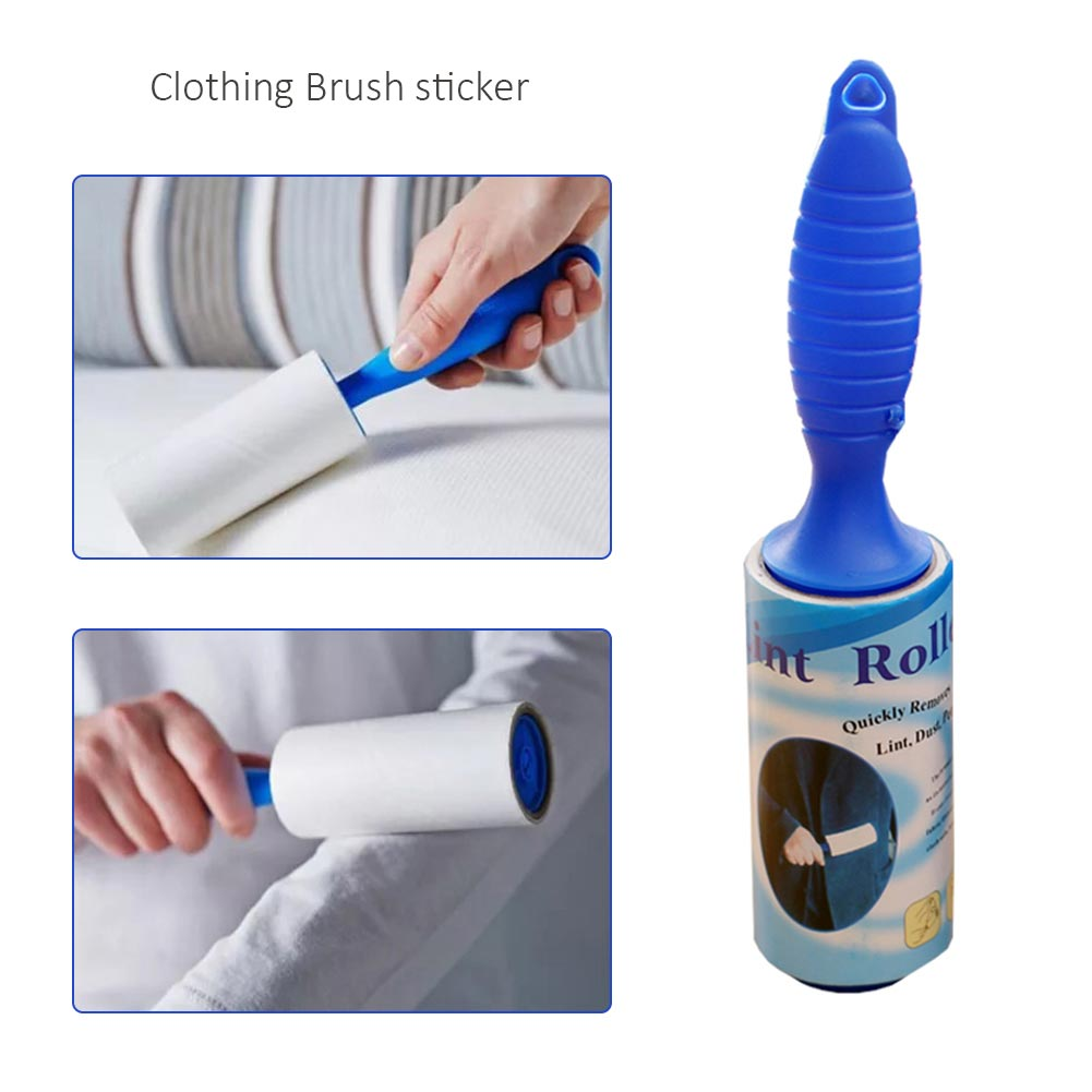 2020 High Quality 40 Sheets With Handle Brush Dust Remover Sticky Clothes Pet Dog Hair Fabric Fluff