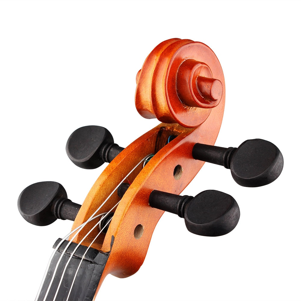 4/4 Acoustic Viola Spruce Solid Wood Panel Natural Color Viola Professional Stringed Instrument With Case Bow For Musical Lover enlarge