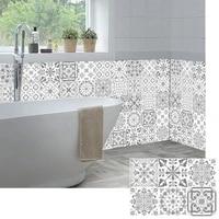 Bande autocollante gris clair 10 15 20 30cm  carreaux muraux  salle de bains  Tables de cuisine  decoration papier peint peler et coller a la taille  Art Mural
