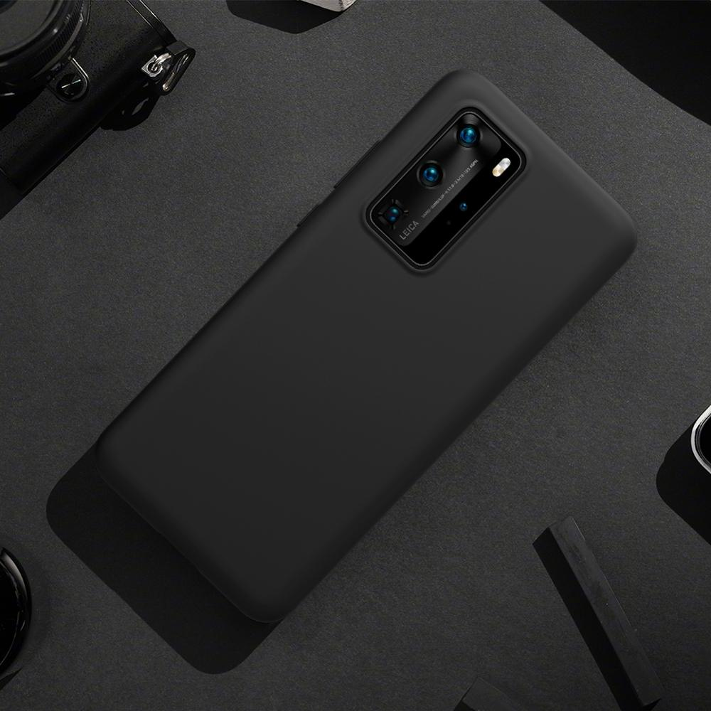 Funda de teléfono NILLKIN Flex Pure para Huawei P40, funda trasera fina de silicona líquida suave de goma a prueba de golpes para Huawei P40 Pro