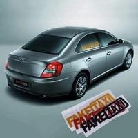 2pcs fake taxi fake car van vinyl funny sticker decal decoration