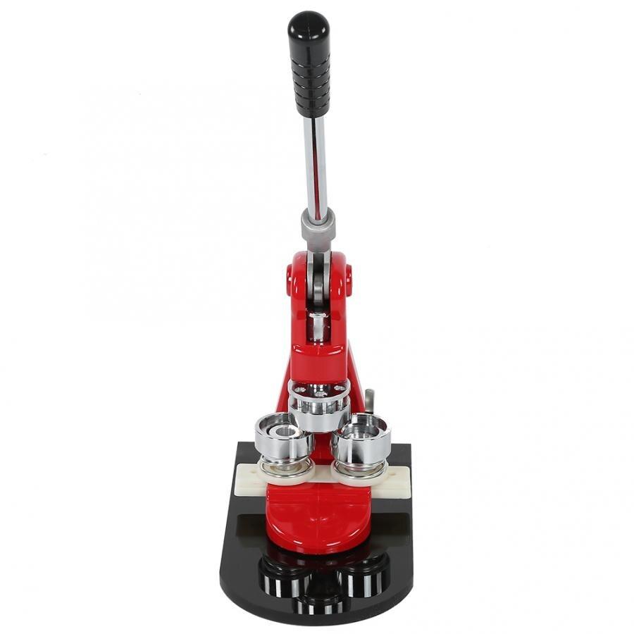 Máquina de prensado de 25mm / 32mm/58mm, con 1000 piezas de botón circular + cortador de círculos