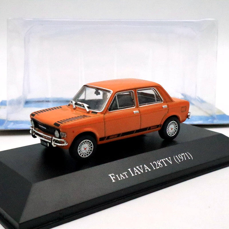 ixo 1 43 for v ksw gen polo classic 1996 diecast models collection limited edition auto toys car gift red IXO 1:43 Fiat IAVA 128TV 1971 Diecast Models Limited Edition Toys Car Collection Auto Gift