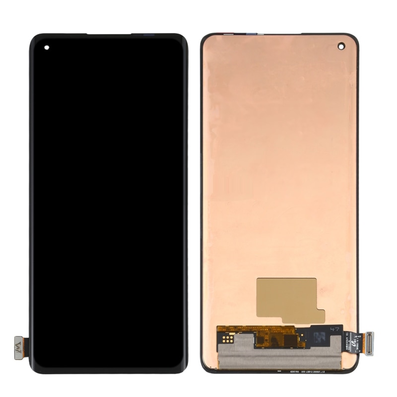 Original AMOLED LCD Display Touch Screen Digitizer Full Assembly 6.55