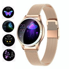 Kw20 스마트 시계 여성 ip68 방수 심장 박동 모니터링 블루투스 안 드 로이드 ios 피트 니스 팔찌 smartwatch