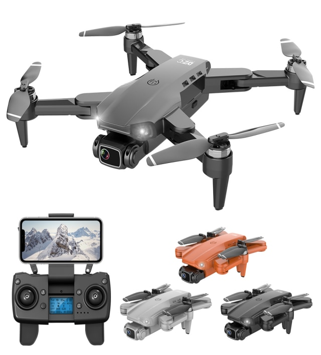 TYRC L900PRO GPS RC Drone 4K Dual HD Camera Professional Aerial Photography Brushless Motor Foldable Quadcopter RC Distance1200M enlarge