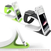 multi charging dock stand docking station charger holder tablet support 2 in1 for apple watch for iphone cell phone mobile phone