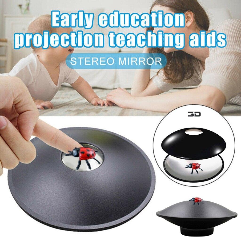 Enfants jouets Image optique visuel maison Durable 3D Mirascope instantané Illusion fabricant enfants cadeau Portable éducation précoce parabolique