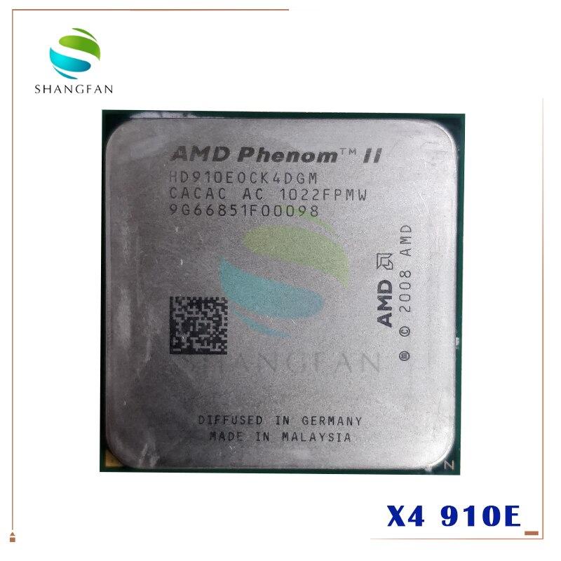 Четырехъядерный процессор AMD Phenom X4 910E 2,6 ГГц hd910equi4dgm 65 Вт Разъем AM3 938pin