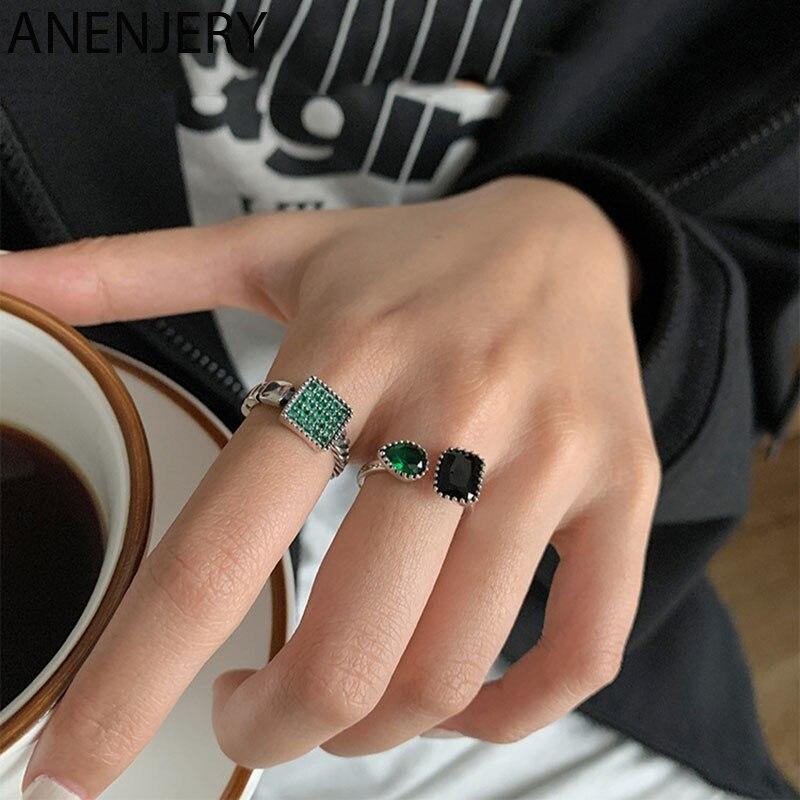 Винтажные-женские-кольца-evimi-из-серебра-925-пробы-с-зеленым-и-черным-камнем-свадебный-подарок-роскошное-ежедневное-украшение