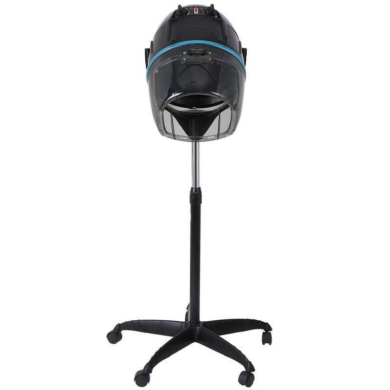Stand Hair Dryer Adjustable Hooded Floor Hair Bonnet Dryer Salon Hair Styling Tool 1000W Adjustable Temperature Timing Hair-dry enlarge