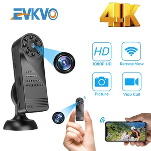 1080P Mini Digital Camera Portable Wifi Micro FHD 4K Camera Portable Body Camera HD Mini Small DV Camcorder Portable Outdoor Cam