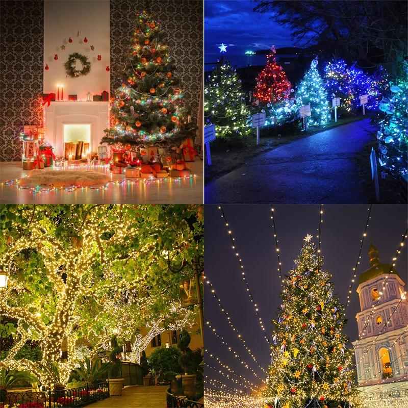 Vakantie LED kerstverlichting buiten 100m 50m 30m 20m 10m LED - Vakantie verlichting - Foto 5
