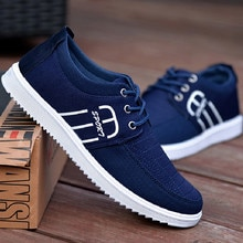 Summer Breathable Casual Anti-skateboard Canvas Shoes Running Sneakers Of A Hundred Tidal Shoes