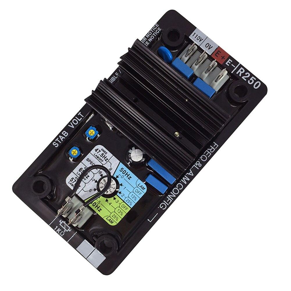 avr r250 modulo componentes regulador de tensao automatico universal sem escova pratico