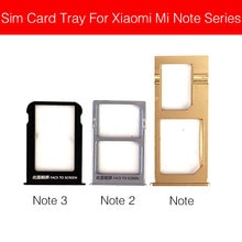 Dual Micro Sim Card Tray Holder For Xiaomi Redmi Mi Note 2 3 (2015) Micro SD Reader Sim Card Slot Re