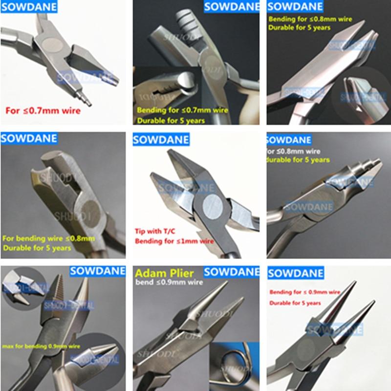 Стоматологический ортодонтический инструмент, лабораторный инструмент для формирования петли, проволока, плоскогубцы для гибки петля, щип...