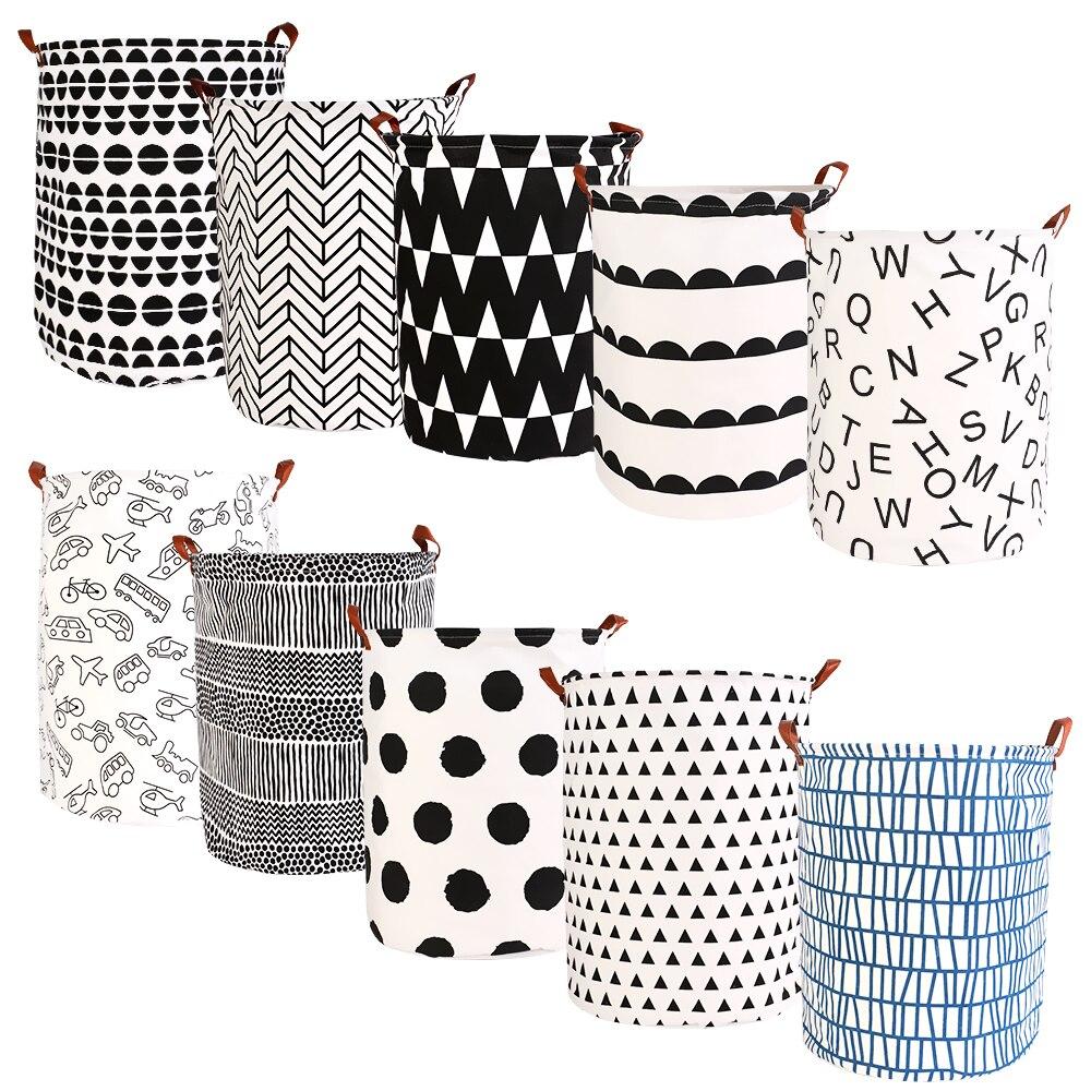 Cestas de ropa de alta capacidad, cestas de lavandería plegables, cesta de almacenamiento, bolsas de ropa para el hogar, bolsas de almacenamiento de juguetes para niños