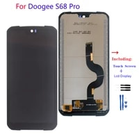 original lcd for doogee s68 pro lcd display touch screen digitizer assembly phone for doogee s68 pro parts repair
