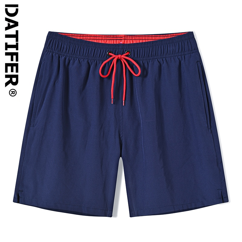 DATIFER Men Beach Shorts Quick Drying Summer Mens Swimming Board Short Gailang Swimwear Matching Wear Surfing Pants