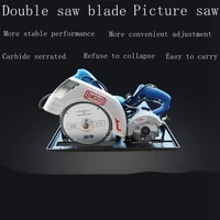 woodworking table saw mother saw dust free saw flip precision saw large and small double blade electric saw