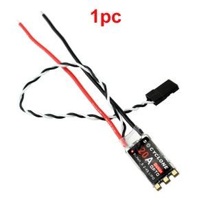 1 шт. 20A ESC BLHeli-S 2-4S Цифровой ESC w RGB светильник поддерживает светильник shot 300 600 Oneshot F световые контрольные сигналы для FPV гоночного дрона