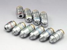 Biological Microscope Plan Objective Lens 4X 10X 20X 40X 60X 100X RMS Thread 160/0.17