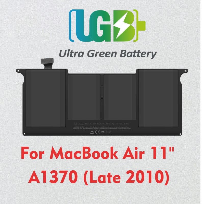 UGB новый оригинальный A1375 аккумулятор для Apple MacBook Air 11 дюймов A1370 (последняя версия 2010 года) MC505 MC506 MC507LL/A
