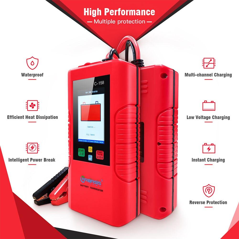 Arrancador de batería de coche TopDiag, carga rápida sin batería, elevador automotriz, carga rápida DC 12V 1000A, dispositivo de arranque portátil para coche