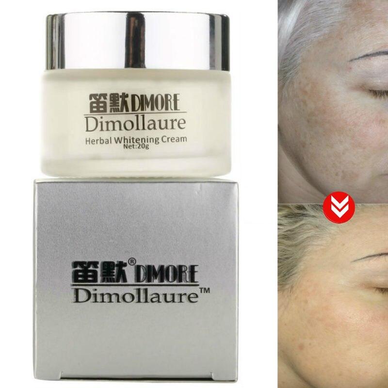 Dimollaure forte efeito clareamento sarda creme retinol remover melasma acne manchas pigmento melanina rosto cuidados cosméticos creme