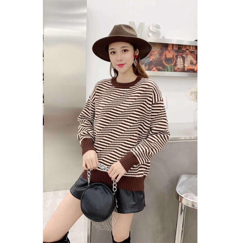 Autumn Winter Sweet Fashion Casual Solid Color women warm sweater woman sweaters enlarge