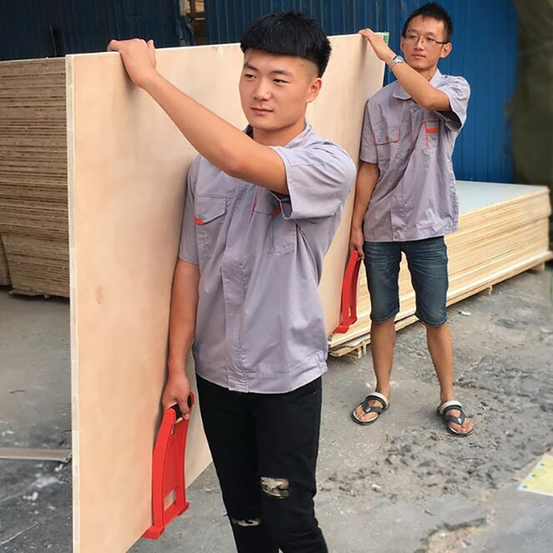 80Kg Abs Panel Lifter Board Carrier Lifting Board Tool Panel Carrier Plate Plywood Loader With Skid-Proof Handle Panel Carrier