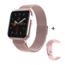 W88 1.54 inch IPS Color Screen Smart Watch Heart Rate Monitor Fitness Watch  Waterproof Bluetooth call  Smart watch