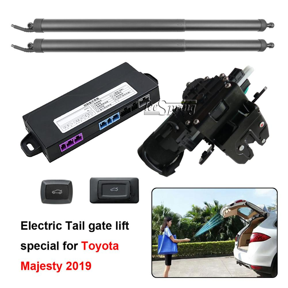 Elevador de puerta trasera inteligente eléctrico de coche especial para Toyota Majesty 2019, Control remoto para puerta trasera de coche