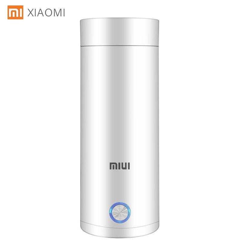 400ml Portable Electric KettlesThermal Cup Make tea Coffee Travel Boil water Keep warm Smart Water K