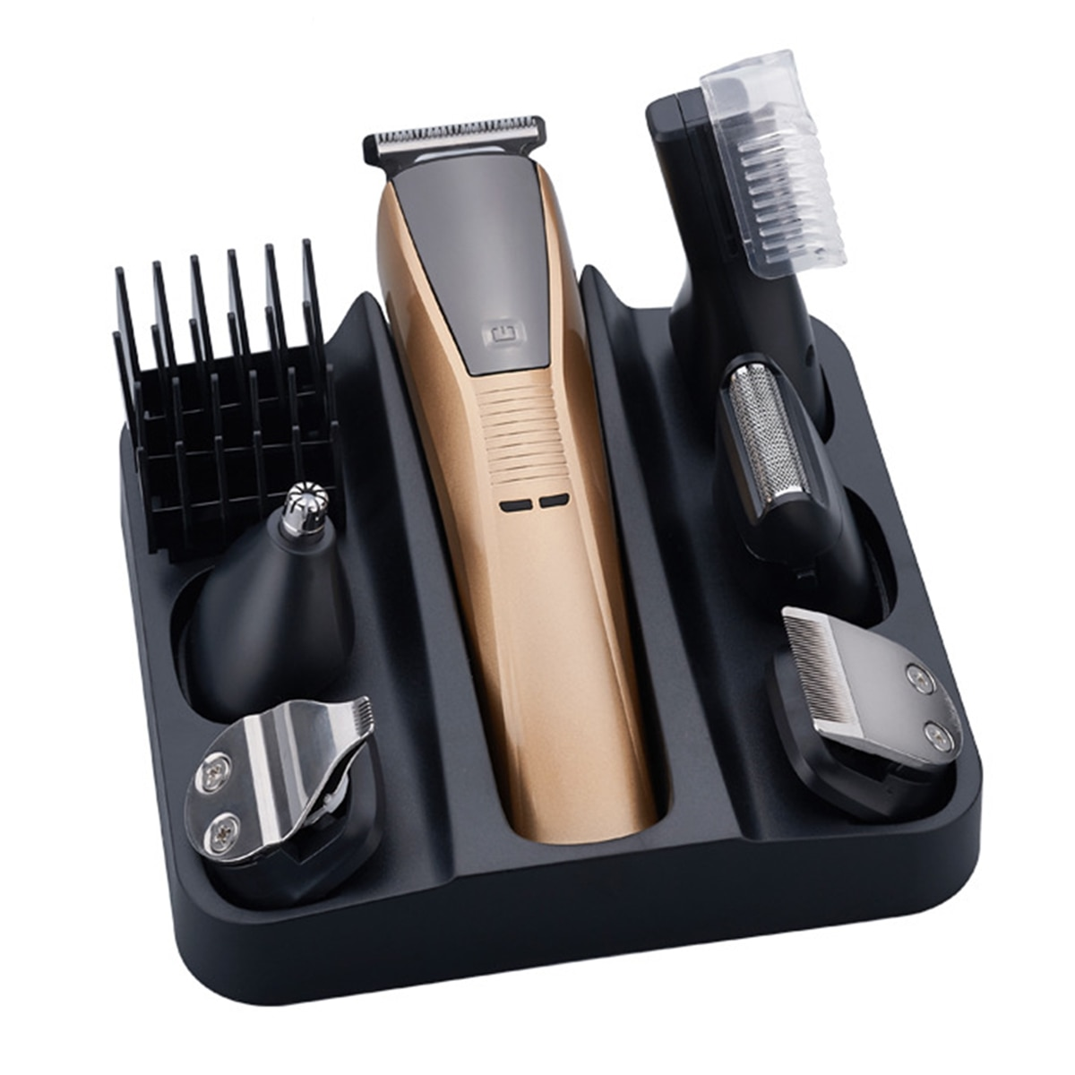 6in1 electric hair trimmer beard hair clipper for men eyebrow trimer nose mustache shaver body groomer face haircut machine kit