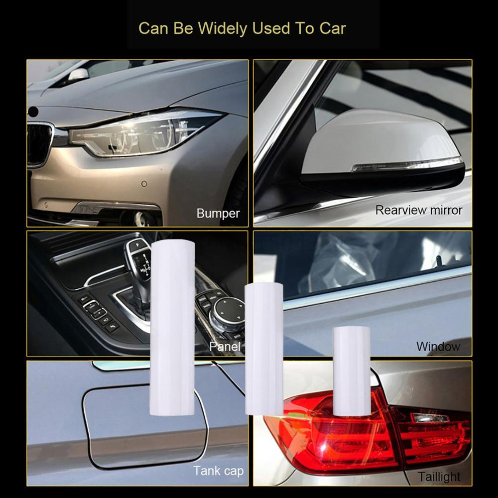 100 cm Haut Schutz Film Auto Auto Hood Farbe schutz Aufkleber Anti Scratch Klare Transparenz Film