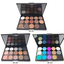 15 Color Eyeshadow Palette Matte Glitter Eyeshadow Makeup Multiple Color Eye shadow Long-lasting Easy To Apply Eye palette SE