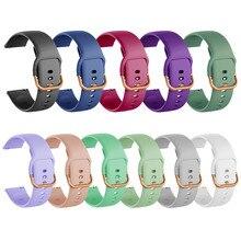 Correa de silicona para Samsung Galaxy Watch, pulsera de 20mm para Huami Amazfit bip, Active 2, Active 3 Gear S2, novedad