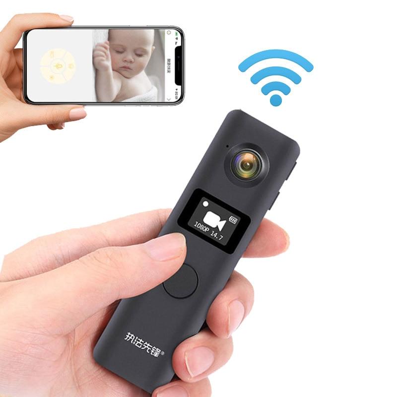 JOZUZE C19 Wireless Mini Camera Wifi Small Video Camcorder Pen Camera Body Cam Worn Camera Loop Reco