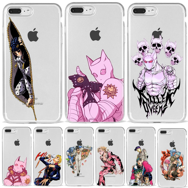Anime phone accessories Case Cover Shell For  iPhone XR XS MAX X 8 7 Plus 6 5 11 Pro