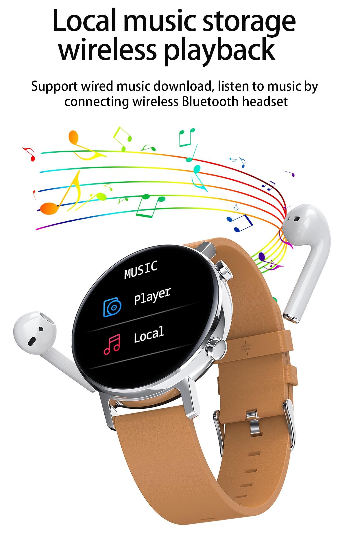 relógios masculinos para huawei android apple ios