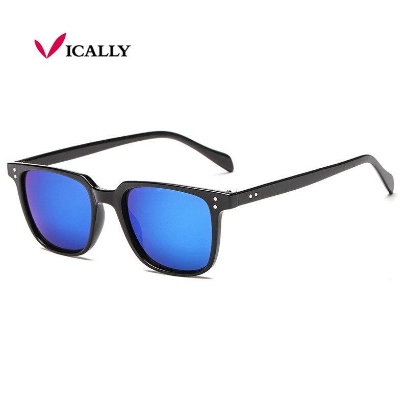 Солнцезащитные очки в стиле ретро для мужчин и женщин, винтажные брендовые дизайнерские зеркальные солнечные очки для вождения