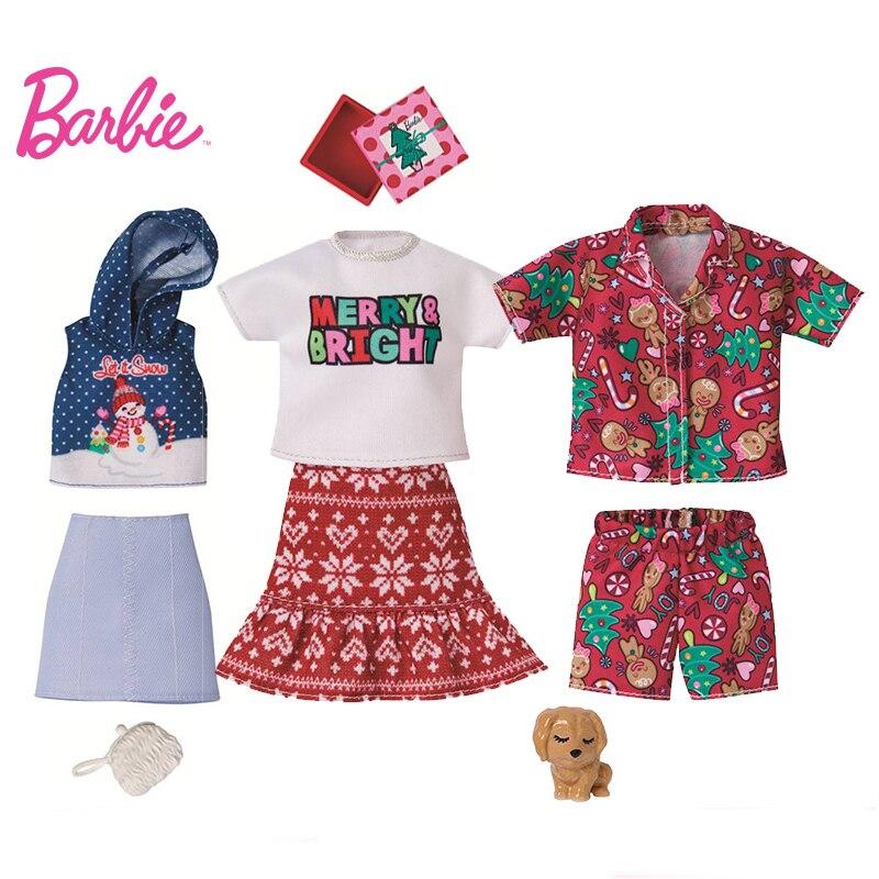 Accesorios para muñecas de juguete de Barbie, armario, moda de Festival, atuendo...