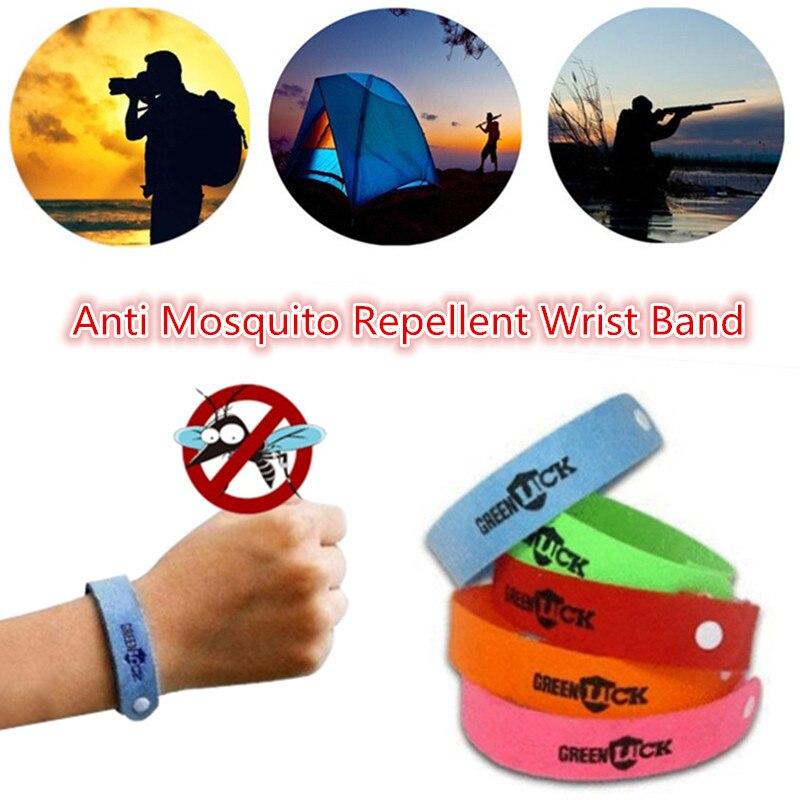 ¿Pulsera repelente de mosquitos para exterior 2 Uds?