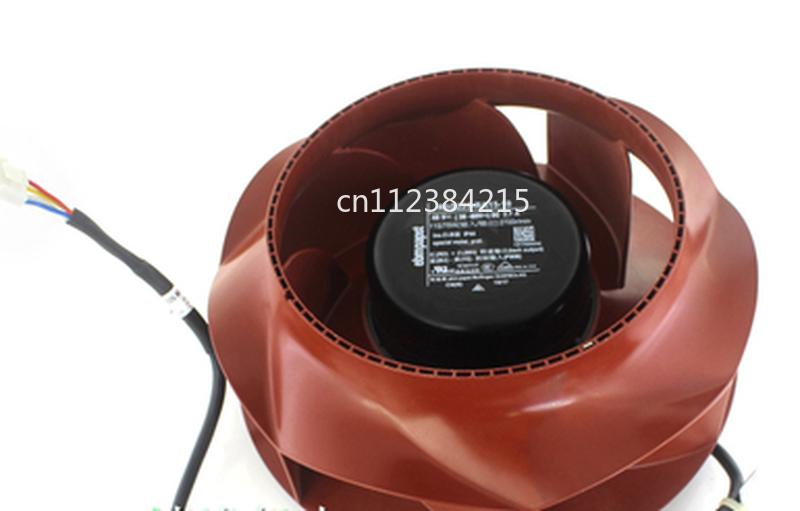 Free shipping R1G225-RA15-10 Germany for ebmpapst centrifugal turbine disk fan 48V 115W adjustable speed Centrifugal fan